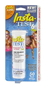 LaMotte 3028 6-Way Pool Test Strips