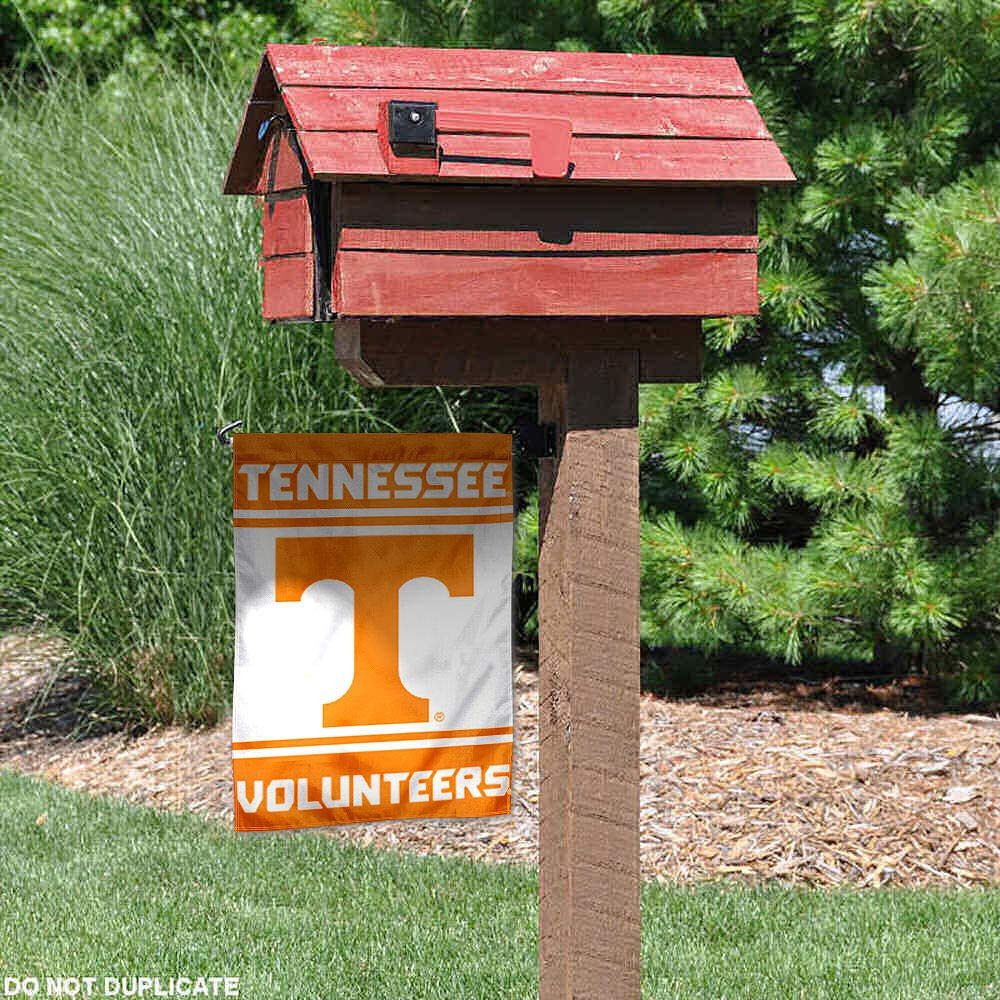 College Flags and Banners Co Tennessee Volunteers Garden Flag