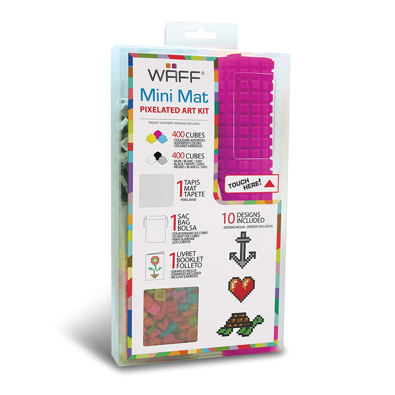 WAFF Mini Mat Set With 800 Cubes – ORANGE