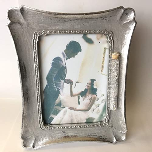 Amazoncom Jewish Wedding Silver Photo Picture Frame With A