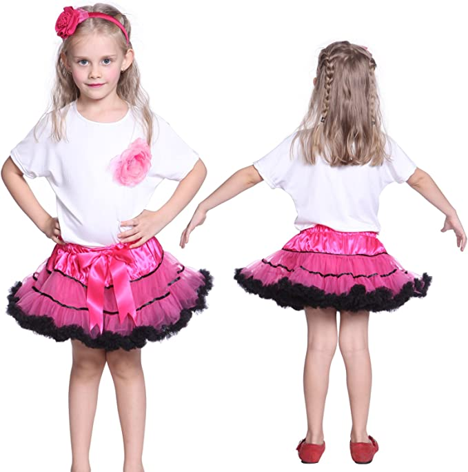 Anladia - Tutu Falda De Tul Bailarina Baile Danza Ballet Disfraz ...