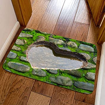 Tapis De Mode 3d Facile A Nettoyer Tache Fade Resistant Soft Living