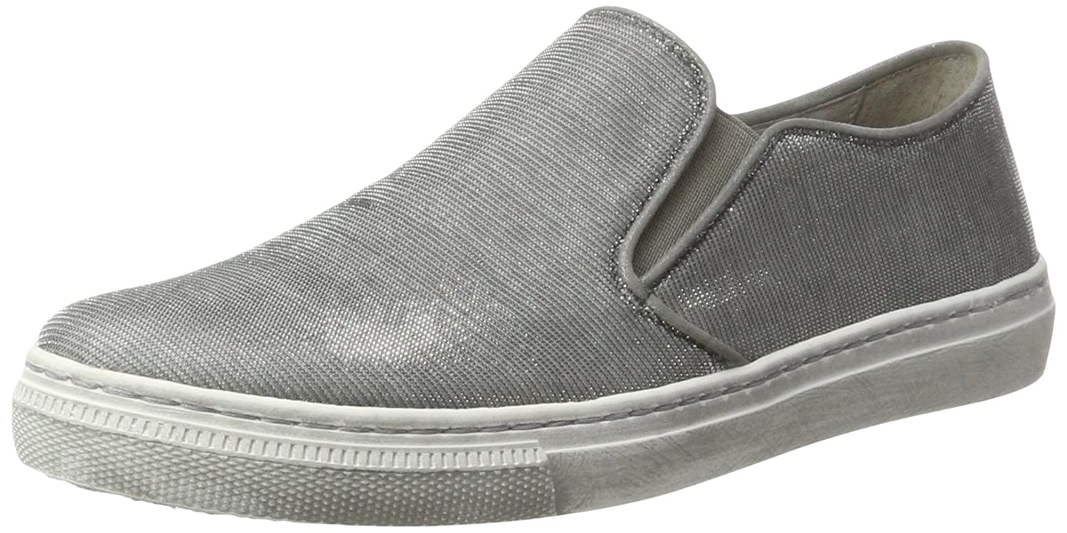 Gabor Damen Fashion Sneakers Silber (Silber 60)