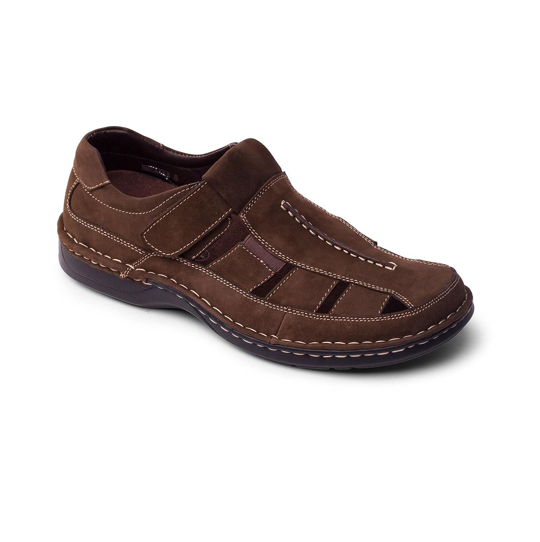 Padders Hommes Sandale en Cuir 'Breaker' | Sandales de plage élégantes | Taille Standard F | Talon 25mm | Avec Chausse-Pied Gratuit 116