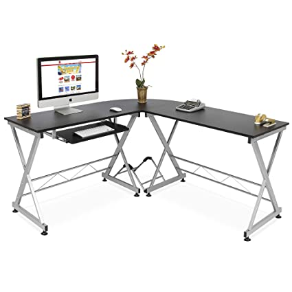 Amazon.com: Best Choice Products Wood L-Shape Corner Computer Desk on office frame, office building diagram, internet diagram, installation diagram, office computer diagram, office manual, surround sound diagram, office dimensions diagram, solar panels diagram, office furniture diagram, lighting diagram, troubleshooting diagram, hardware diagram, office installation, office thermostat, transformers diagram, network cable diagram, programming diagram, office accessories,