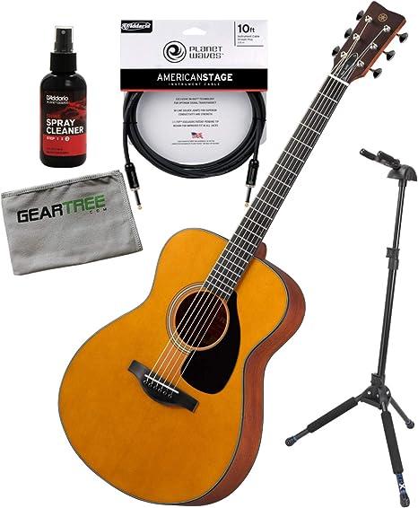 Yamaha FS5 Red Label Concierto cuerpo todo sólido guitarra ...