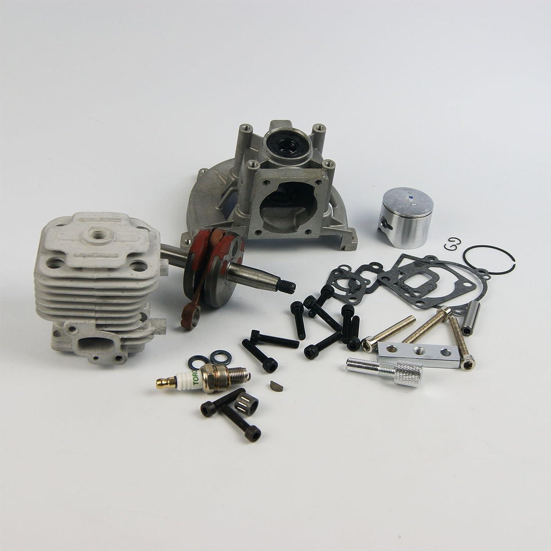 Rebuild Upgrade 4 bolt 30.5cc Engine Kit piston crankcase for Rovan King Motor ZENOAH Baja 5B 71ORD7-zwQLSL1500_