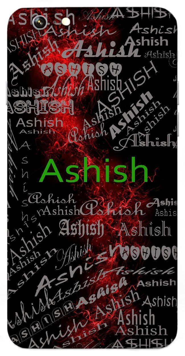 Ashish Name & Sign Printed All Over Customize Amazon
