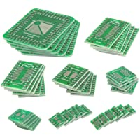 QLOUNI 40Pcs PCB Board Kit Double Sided SMD