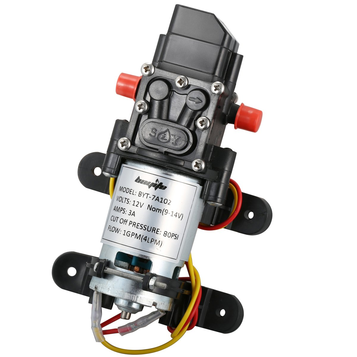 Bayite 12V DC Freshwater Pressure Pump