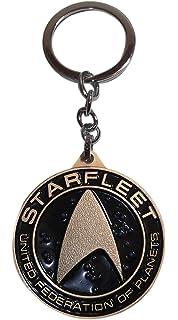 Amazon.com: Star Trek Keychain U.S.S. Enterprise NCC-1701 ...