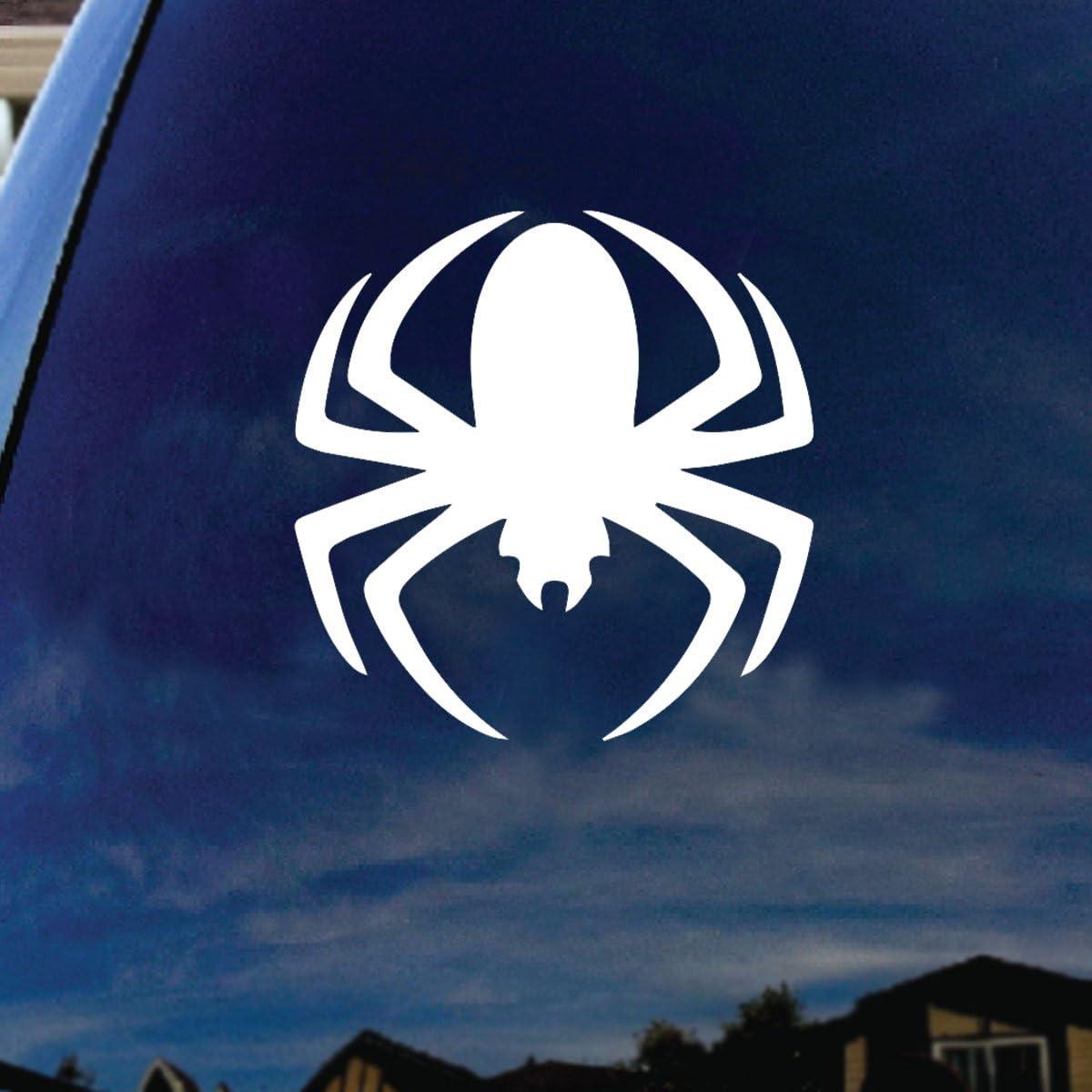 "SoCoolDesign Year Of The Spider Car Truck Laptop Sticker Decal 4"" Diameter"