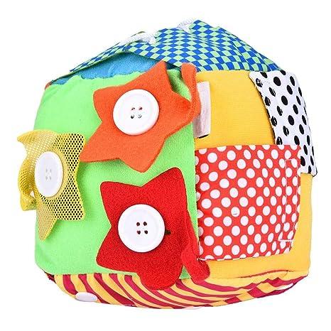 Juguete de dados para bebé Early Educational Dice, herramienta de ...