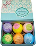 Bath Bombs Ultra Gift Set By NATURAL SPA - 6 XXL