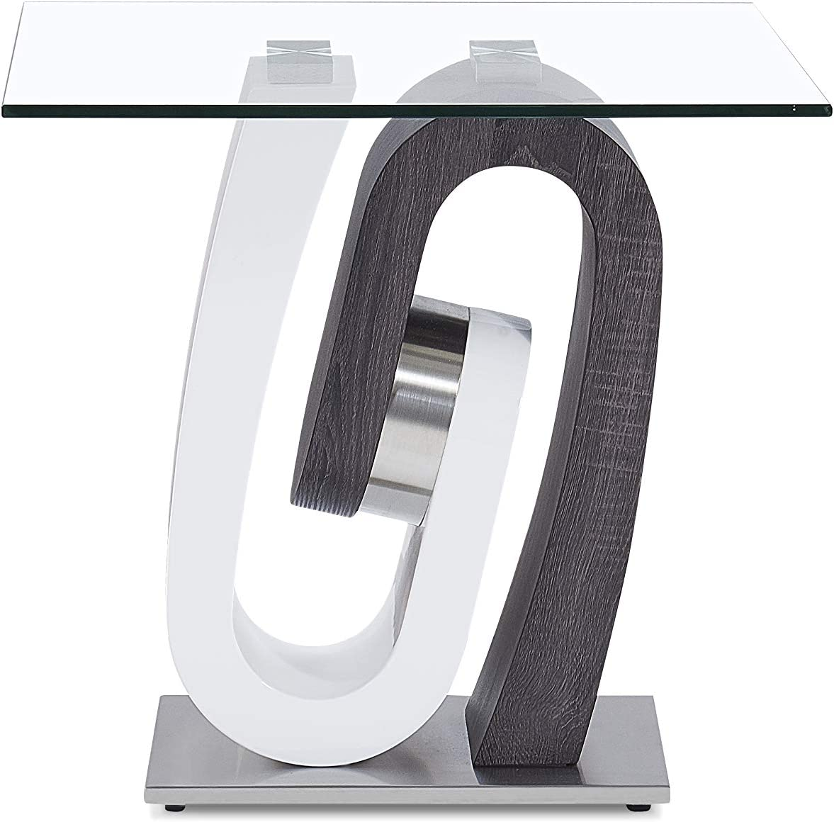Global Furniture USA End Table, Dark Grey