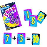 Learning Resources Snap It Up! Math: Add/Sub Card Game