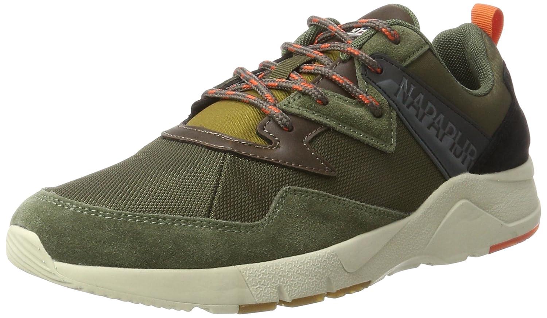 Footwear Optima, Baskets Homme, Vert (Dark Olive N730), 46 EUNapapijri