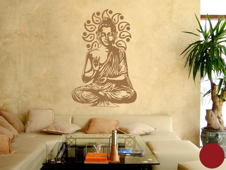 Klebefieber Wandtattoo Buddha B x H  67cm x 100cm 100cm 100cm Farbe  Kupfer B071DWHRM7 Wandtattoos & Wandbilder f1c6ec