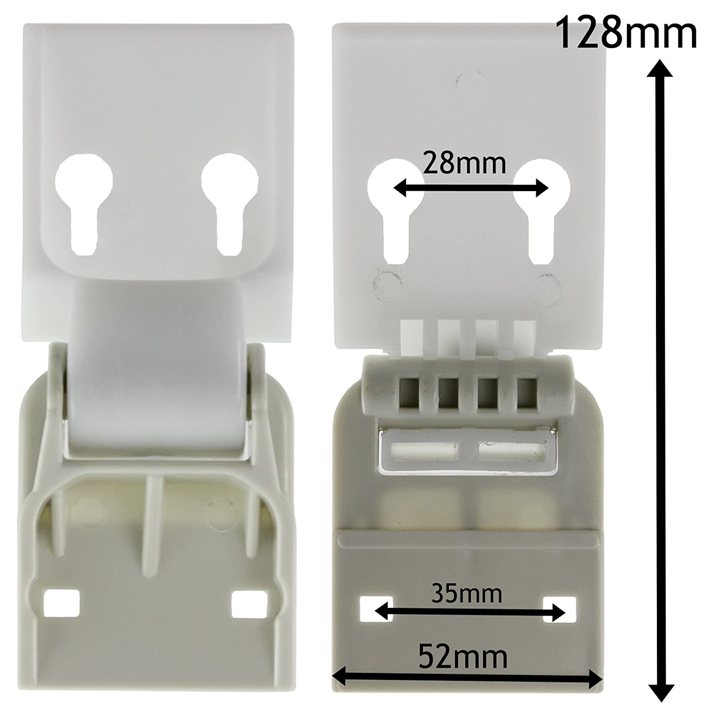 Universal Counterbalance Chest Freezer Door Lid Hinge Hinge Pair