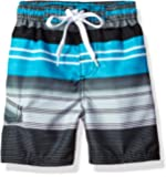 Kanu Surf Boys' Victor Stripe Quick Dry Beach Board Shorts Swim Trunk