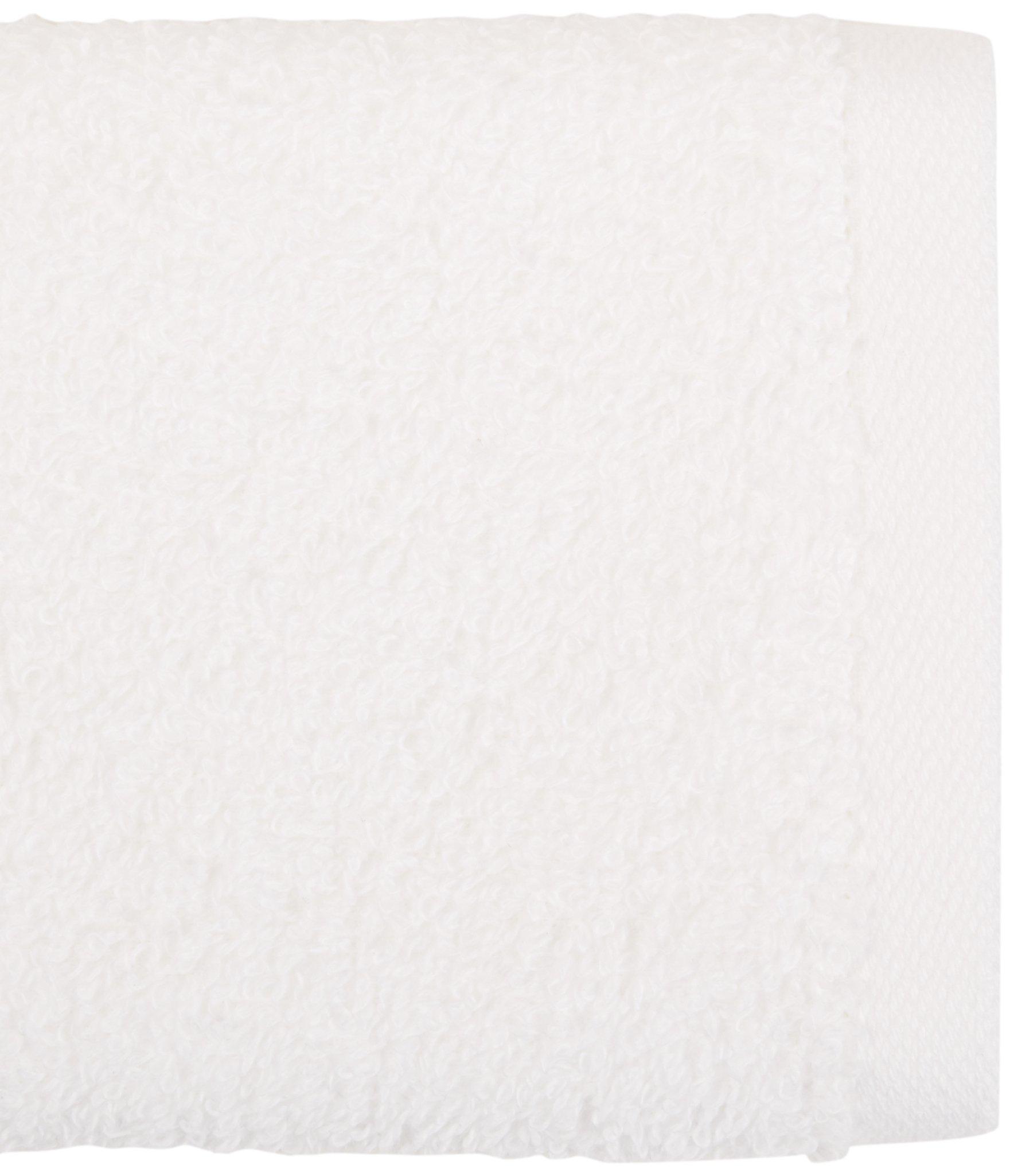 AmazonBasics Cotton Washcloths, 24 - Pack, White by AmazonBasics (Image #3)
