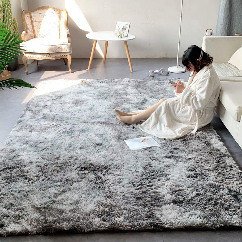 Teppich weiche Teppiche Teppiche Wohnzimmer Niedlichen Wohnzimmer couchtisch Krawatten Teppich Moderne Schlafzimmer pelzigen Teppich Nordic Simple rutschfeste Teppich Zimmer Nacht Flauschigen Teppich