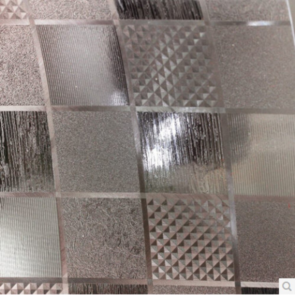 Amazon com: Pvc transparent scrub mat Crystal flooring