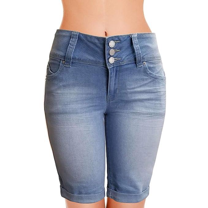 Amazon.com: YMI - Pantalones cortos para mujer, estilo ...