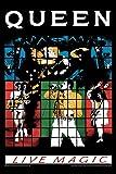 Artangle Paper Bravado Queen Live Magic Poster (Small, 12 x 18 Inch)