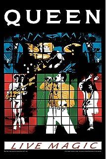 artangle bravado queen live magic small poster 12 x 18 inches paper multicolor