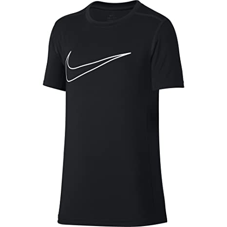 7a52f9c2ad99 Amazon.com  Nike Boys  Short-Sleeve Training Shirt  Sports   Outdoors