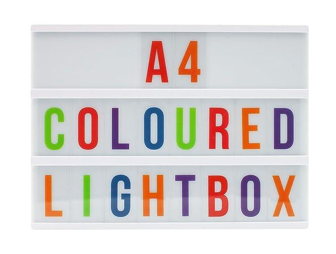 LocomOcean Light Up Your Life - Caja de luz cinemática, color ...