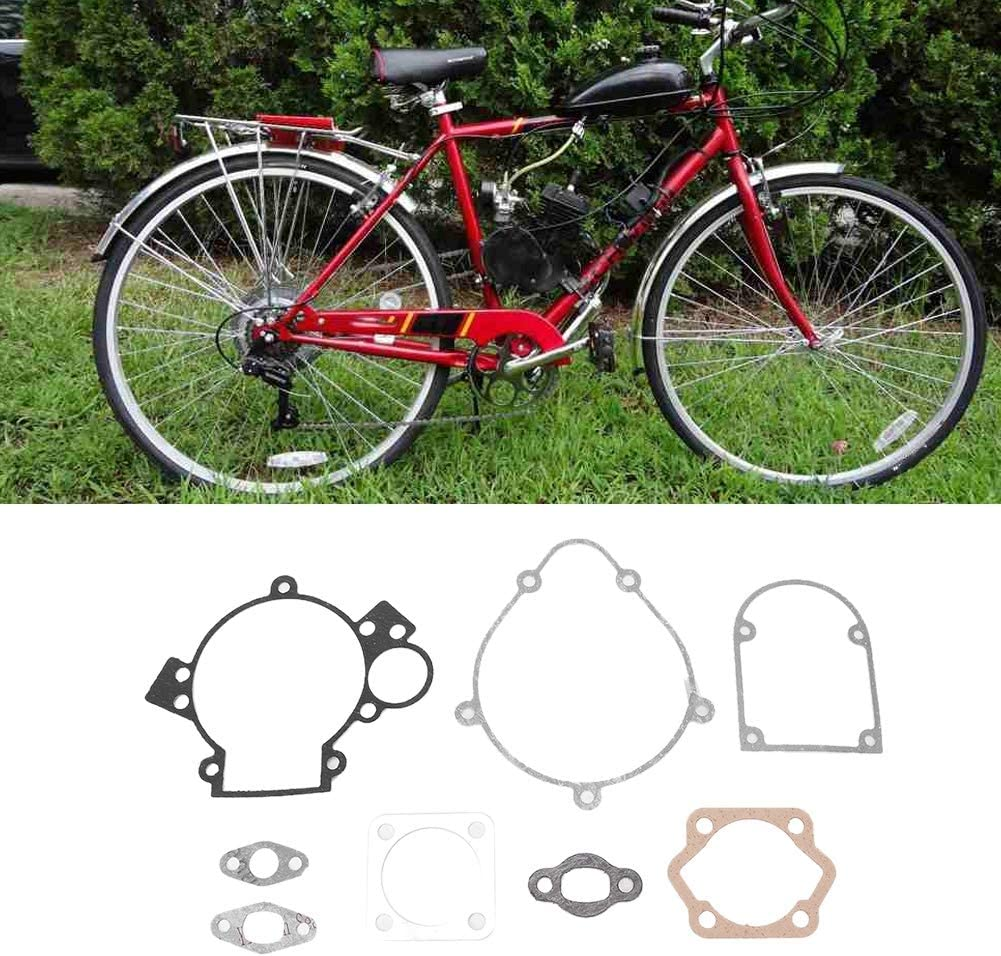Gorgeri Kit de juntas Kit motorizado bicicleta motor metal juntas aptos para bicicletas motorizadas de 80cc: Amazon.es: Coche y moto