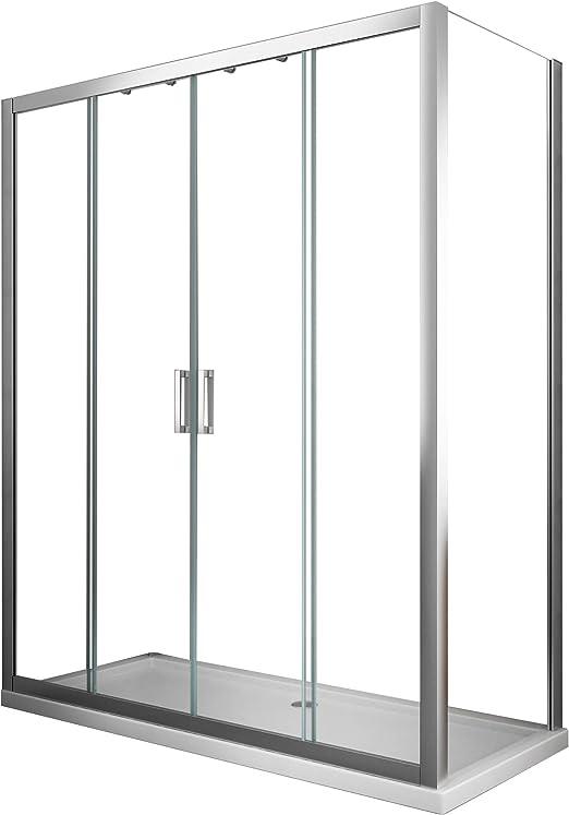 Laneri Box cabina de ducha compuesta por una pared fija y una ...