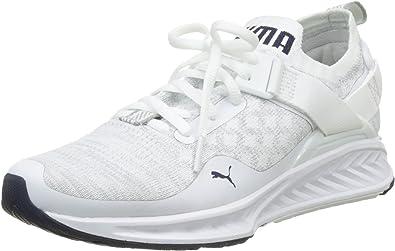 Puma Ignite Evoknit Lo Wns, Zapatillas de Running para Mujer, Blanco White-Vaporous Gray-Peacoat 02, 40 EU: Amazon.es: Zapatos y complementos