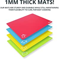 Deals on 4-PK Extra Thick Flexible Plastic Cutting Board Mats