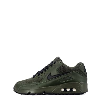 brand new d201b 38296 NIKE Air Max 90 Mesh SE Older Kids Sneaker (5 M US Big Kid)