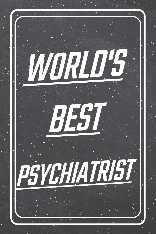 World's Best Psychiatrist: Psychiatrist Dot Grid Notebook