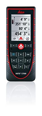 Leica Disto E7500 500ft Laser Distance Measure with Bluetooth