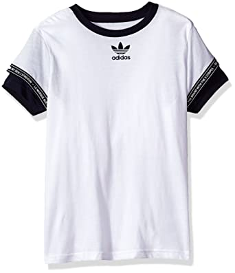 2fbc0eccf1afd Adidas Originals Boys BQ4032 Kids NMD Tee Short Sleeve T-Shirt - - Medium