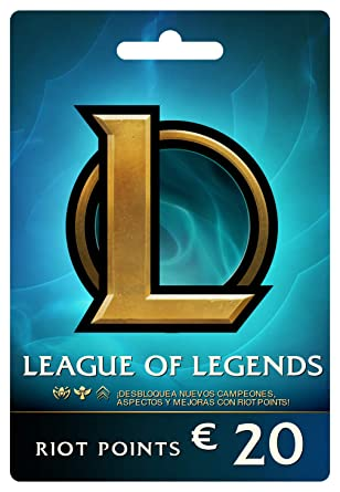 League of Legends €20 Tarjeta de regalo prepaga (2800 Riot ...