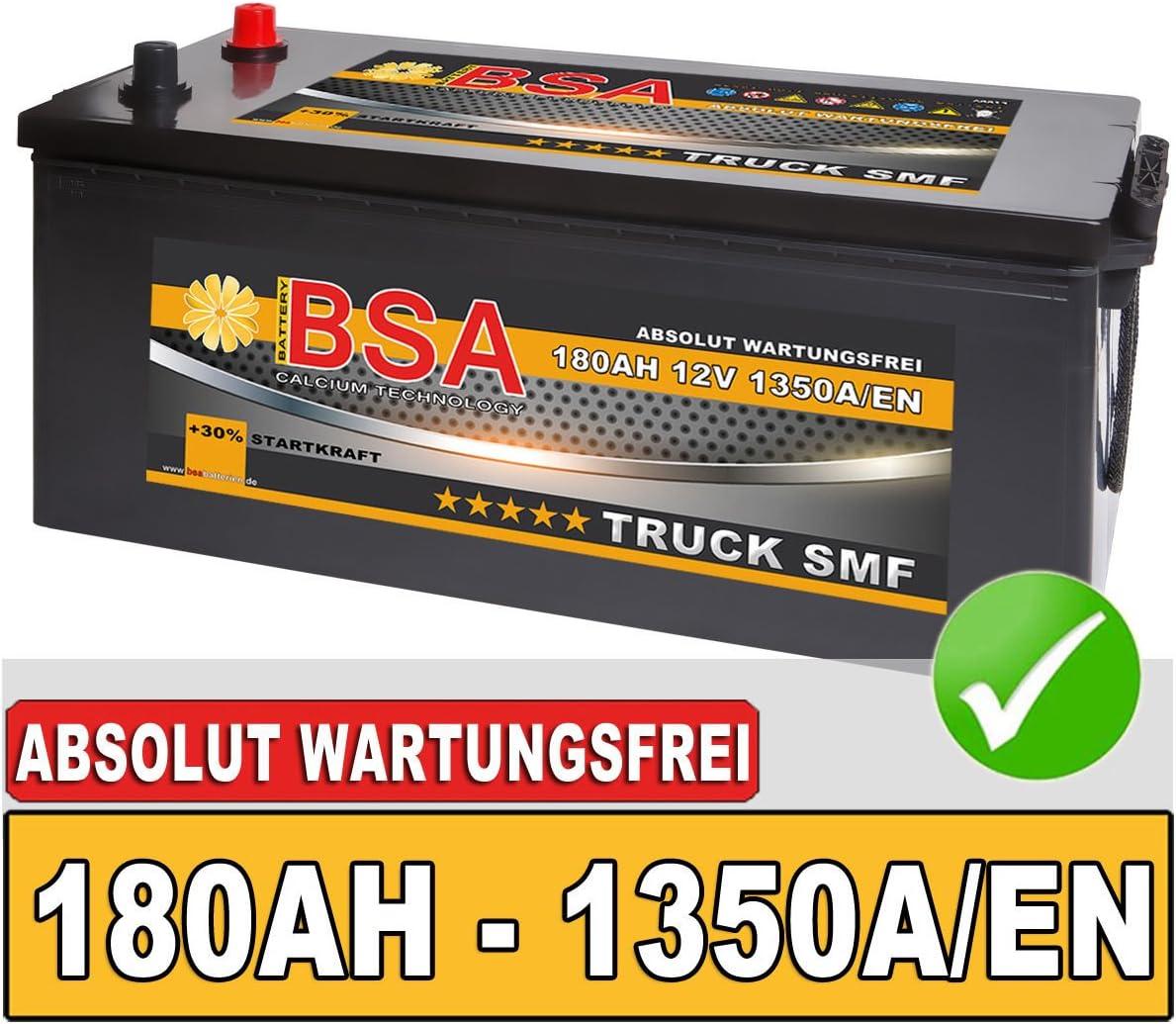 Bsa Lkw Batterie 180ah Shd Starterbatteri E 12v Absolut Elektronik