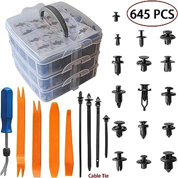 Door Panel Maintenance  Car Fastener Trim Plastic Auto Bumper Fender Clip Tool
