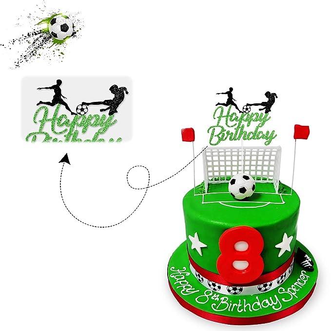 Gum Paste Shoe Sport Shoe Cake Topper Pair 3D Soccer Cake Decorations Sports Fondant Cake Topper Fondant Soccer Shoe