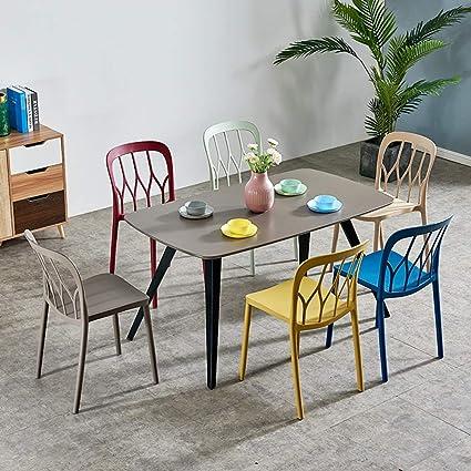 Amazon.com: LJFYXZ - Sillas de comedor de diseño moderno ...