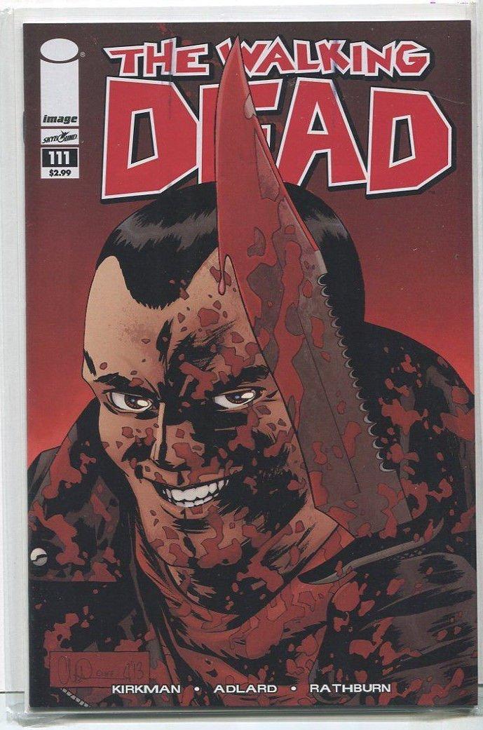 The Walking Dead #111 NM Image Comics CBX2B