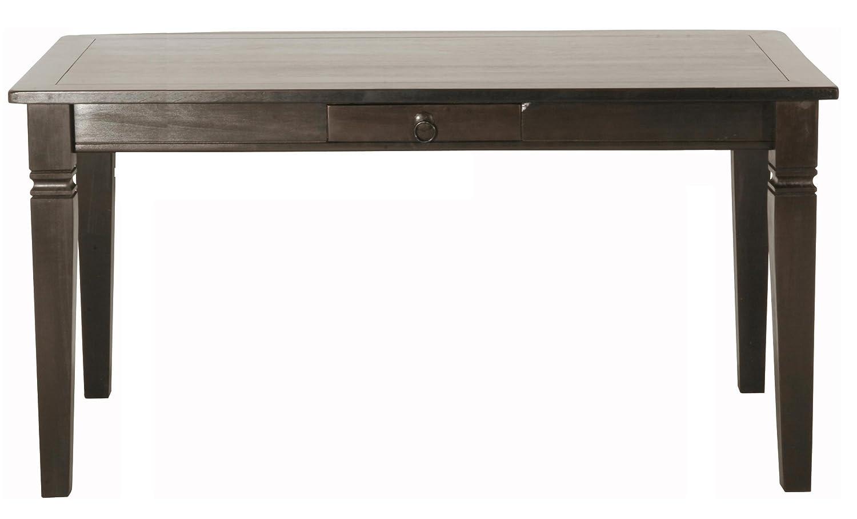 Kare Design Cabana Tisch 160x85 cm mit 4 passenden Holzstühlen