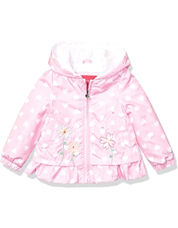 f6292d6603808 London Fog Girls' Midweight Fleece Lined Jacket