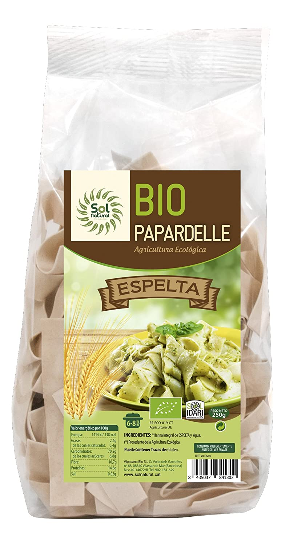 Sol Natural Tagliatelle de Espelta con Espinacas - Paquete ...