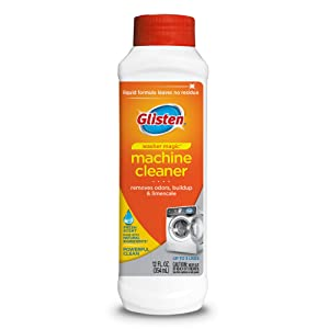 Summit Brands Washer Magic Washing Machine Cleaner and Deodorizer, 12 Fl. Oz. Bottle, White